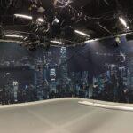 "RTL Studio-Hintergrund ""Skyline Hongkong"""