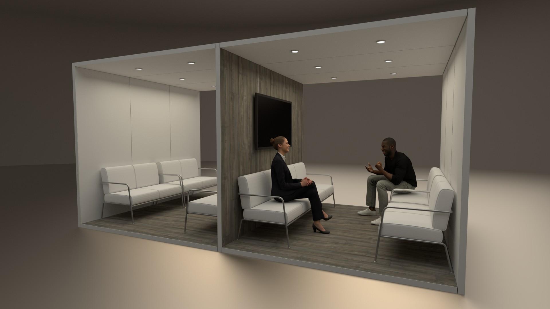 Raumstrukturen Lounges / Aufenthaltsbereiche